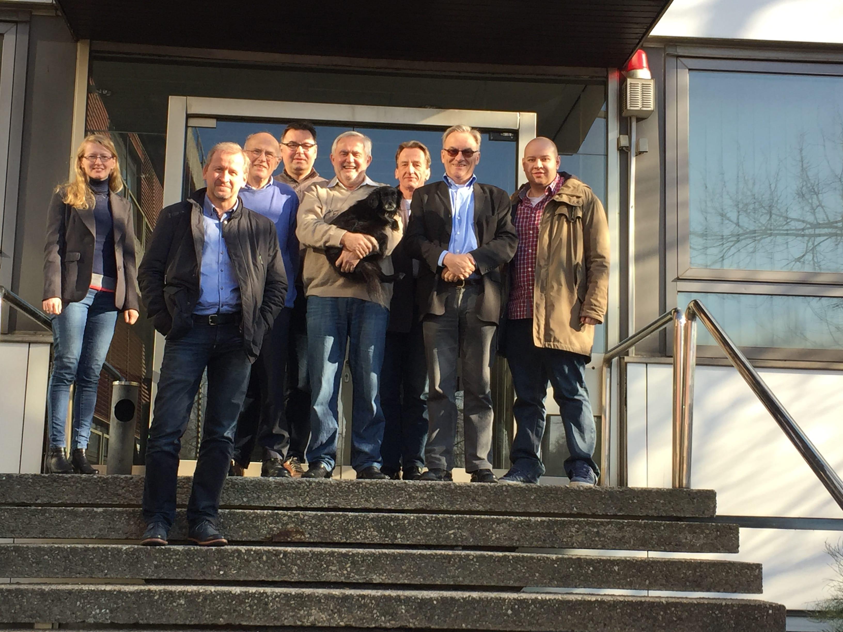 Teilnehmer der MITO-Experten-Zertifizierung im Febraur 2016